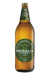 tipos de cerveza - cerveza española - Estrella de levante litro - marcas de cervezas españolas