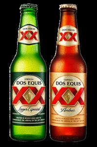 tipos de cerveza - cerveza mexicana - dos equis - XX lager - Ambar