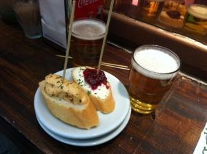 tipos de cerveza - cerveza española - alhambra - caña y tapa - cervezas españolas