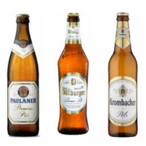 cervezas alemanas - pilsener o pilsen